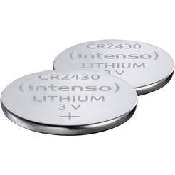 intenso »energy ultra cr 2430« knoopcel zilver