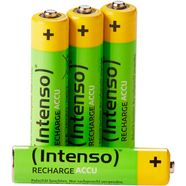 intenso »rechargeable eco aaa hr03 1000mah« accu groen