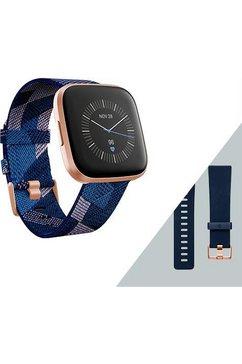 fitbit versa 2 smartwatch special edition blauw