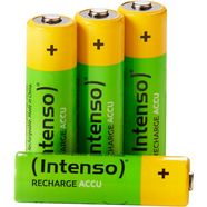 intenso »rechargeable eco aa hr6 2100mah« accu groen