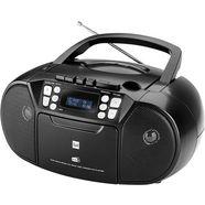dual »dab-p 210« boombox (digitalradio (dab+), 3 watt) zwart