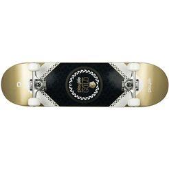playlife skateboard »heavy metal gold«