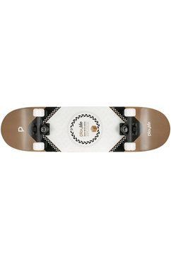 playlife skateboard »heavy metal bronze« zwart