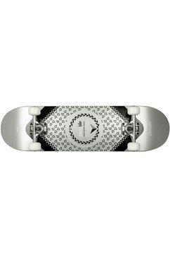 playlife skateboard »heavy metal silver« zwart