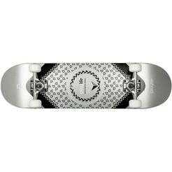 playlife skateboard »heavy metal silver«