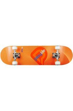 playlife skateboard illusion orange zwart