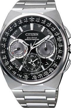citizen titanium chronograaf »cc9008-84e« zilver