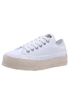 converse plateausneakers »chuck taylor all star espadrille ox« wit