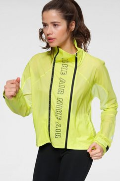 nike runningjack »nike air women's full-zip running jacket« geel