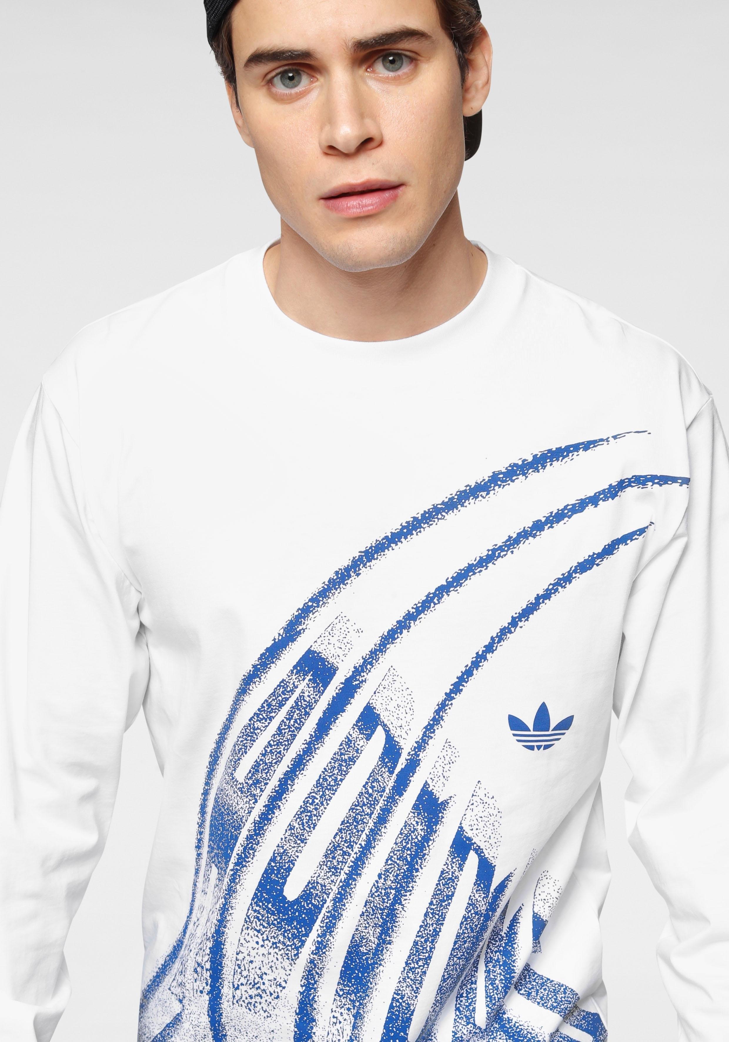 adidas Originals shirt met lange mouwen »LACUNA LONGSLEEVE TEE« goedkoop op otto.nl kopen