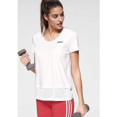 NU 20% KORTING: adidas Performance T-shirt W ESSENTIALS MM TEE
