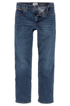 wrangler stretch jeans »texas indigood« blauw