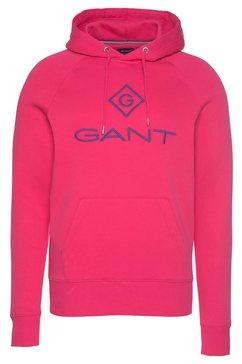gant hoodie rood