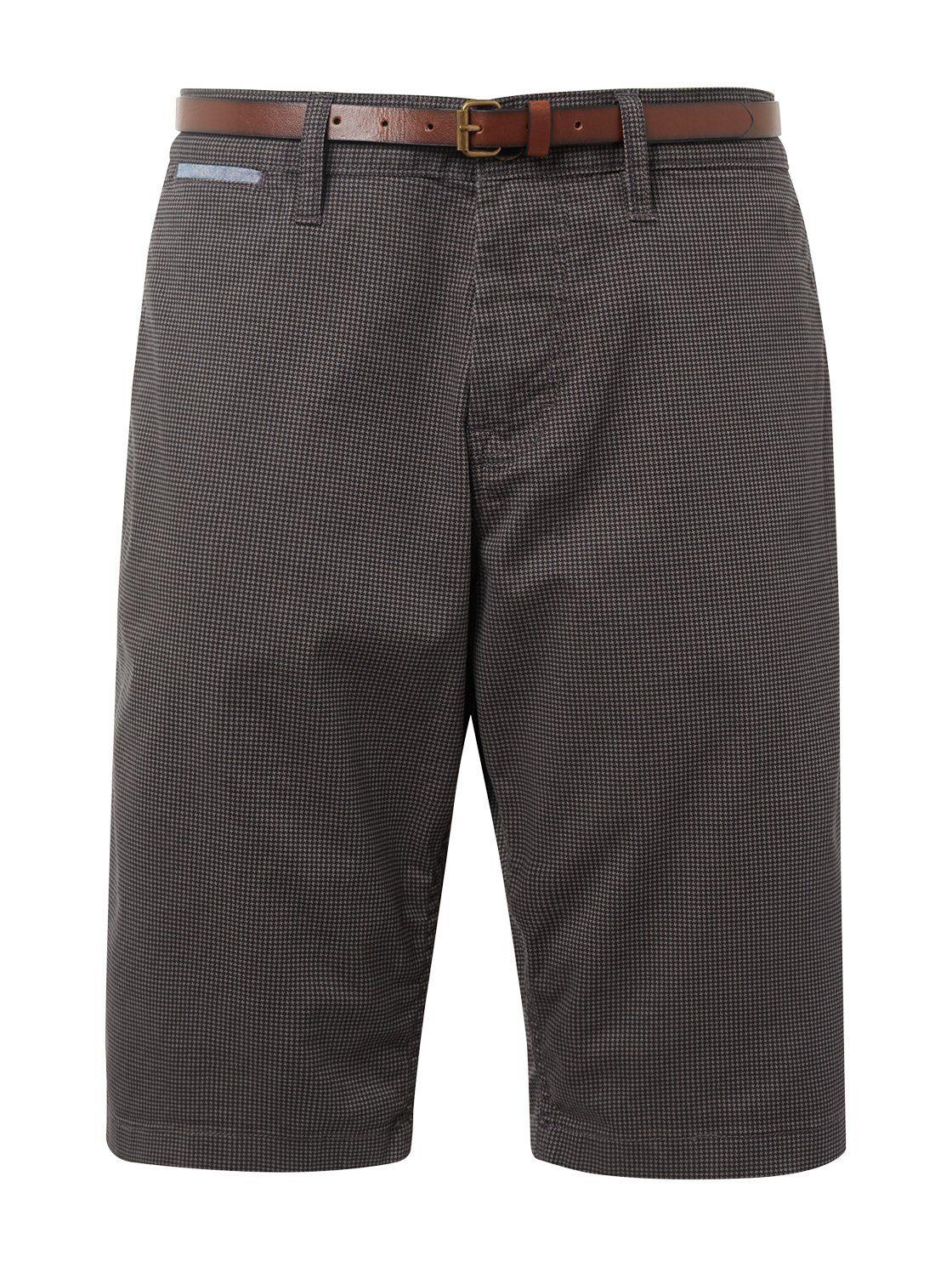 Tom Tailor Bermuda Josh Regular Slim Chino Shorts Met Riem In De Online Winkel - Geweldige Prijs