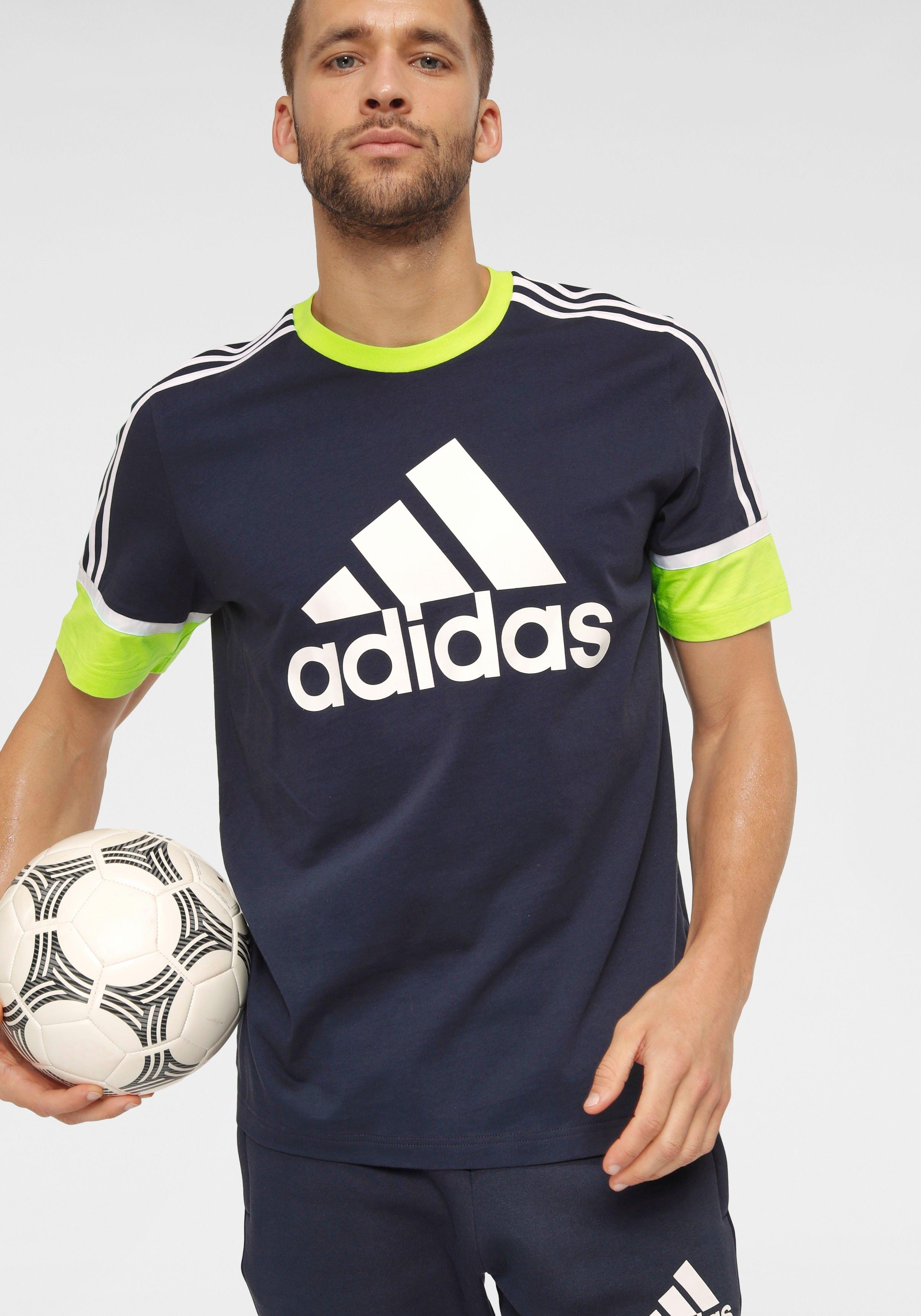 adidas Performance T-shirt MEN LOGO TEE nu online kopen bij OTTO
