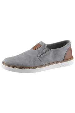 rieker slip-on sneakers grijs