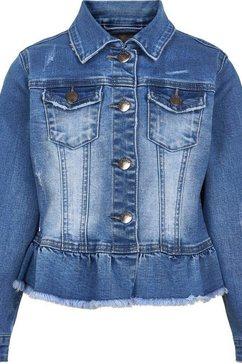 creamie jeansjack blauw
