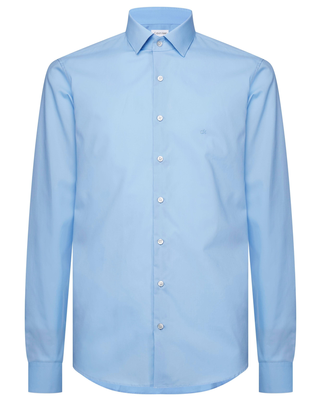 Calvin Klein businessoverhemd 2PLY POPLIN STRETCH SLIM SHIRT unikleur - verschillende betaalmethodes
