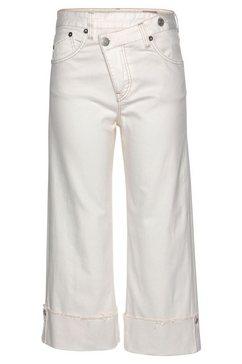 herrlicher wijde jeans »maze« beige
