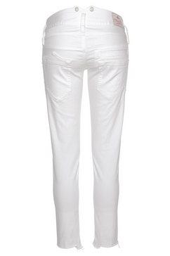 herrlicher 7-8 jeans »pitch slim cropped« wit