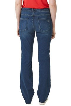 s.oliver stretch jeans »smart bootcut« blauw