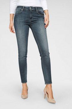herrlicher slim fit jeans »super g slim« blauw