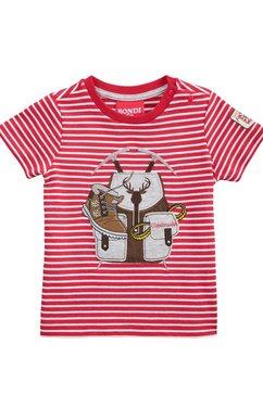 bondi folkloreshirt rood