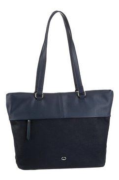 gerry weber bags shopper blauw