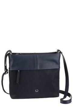 gerry weber bags schoudertas »keep in mind« blauw