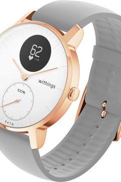 withings steel hr (36 mm) smartwatch goud