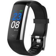 swisstone sw 600 hr smartwatch (2,43 cm - 0,96 zoll) zwart