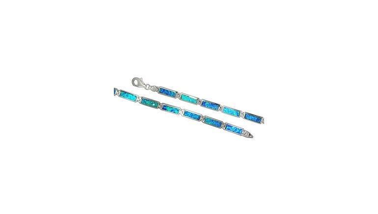 Firetti zilveren armband »glanzvolle Optik, rhodiniert und massiv«