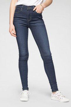 levi's skinny fit jeans »720 high rise super skinny« blauw