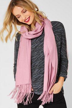 street one modieuze sjaal roze