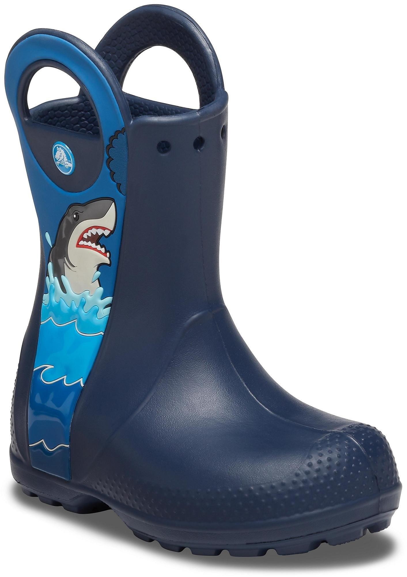 Crocs rubberlaarzen »Shark Rain Boot« bestellen: 30 dagen bedenktijd