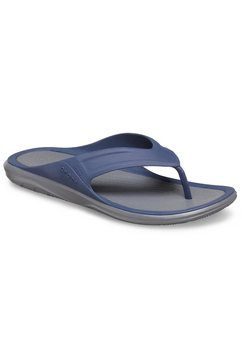 crocs teenslippers »swiftwater wave flip« blauw