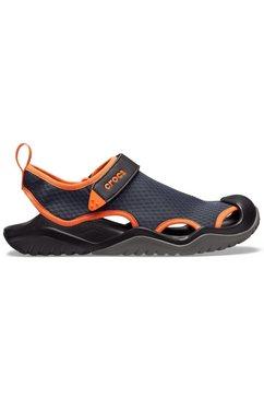 crocs sandalen »swiftwater mesh deck sandal m« blauw
