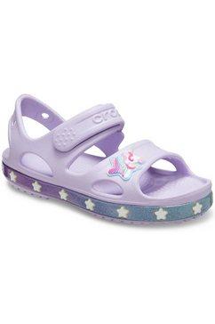 crocs sandalen »unicorn charm« paars