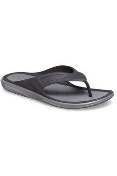 crocs teenslippers »swiftwater wave flip« zwart
