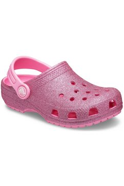 crocs clogs »classic glitter clog« roze