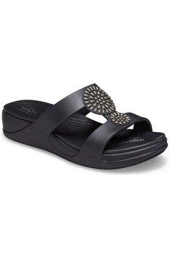 crocs slippers »monterey diamante« zwart