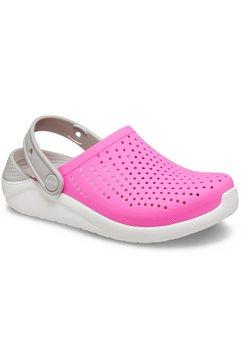 crocs clogs »lite ride clog kids« roze
