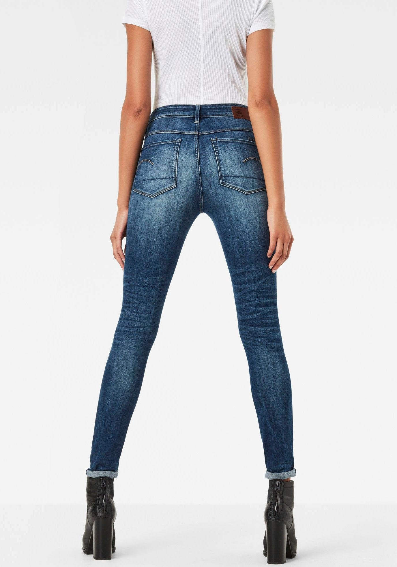 G-star Raw skinny fit jeans »3301 High Skinny« bij OTTO online kopen