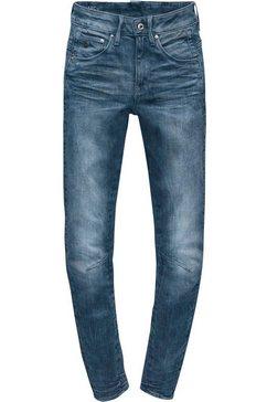 g-star raw skinny fit jeans »arc 3d mid skinny« blauw