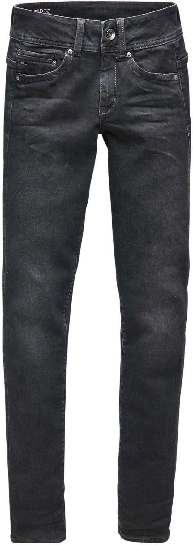 G-Star Raw straight jeans »Midge Saddle Mid Straight« voordelig en veilig online kopen