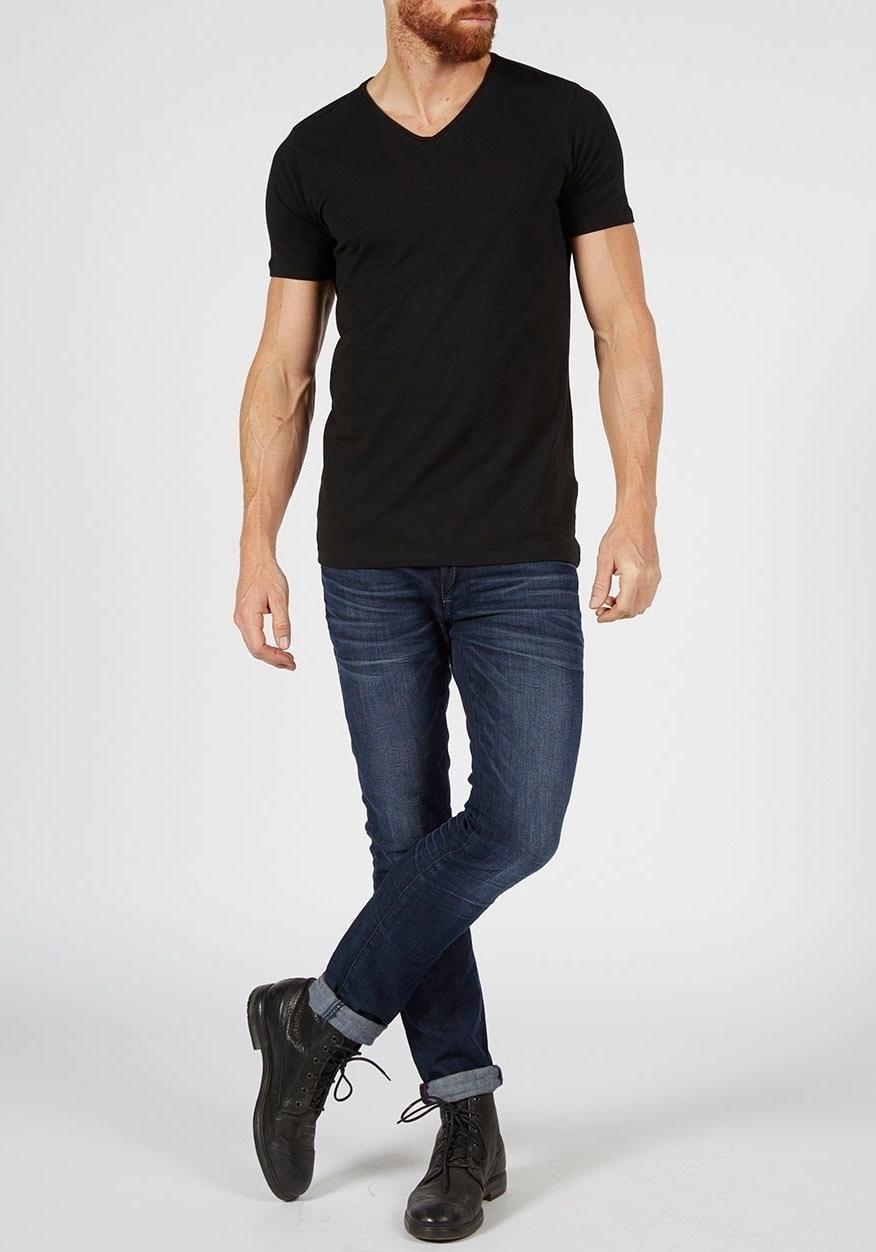 Petrol Industries T-shirt V-hals (Set van 2) nu online kopen bij OTTO