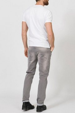 petrol industries tapered jeans »tymore« grijs