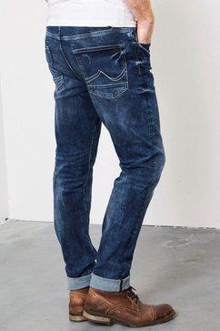 petrol industries slim fit jeans »seaham vtg« blauw