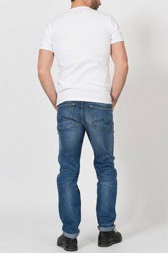 petrol industries regular fit jeans »riley« blauw