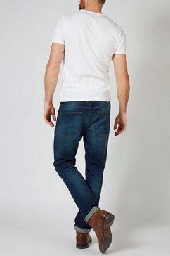 petrol industries tapered jeans »thruxton« blauw